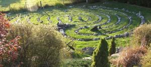Photo of labyrinth